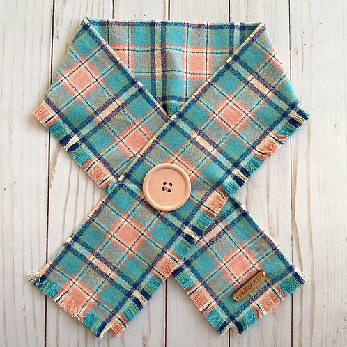 Summer Love Plaid Crossover Scarf