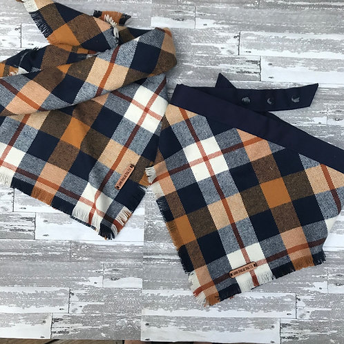 Blue & Camel Plaid