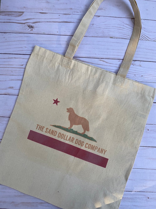 The Sand Dollar Dog Tote