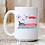 Thumbnail: Patriotic Pontoon Boat Dog Mug