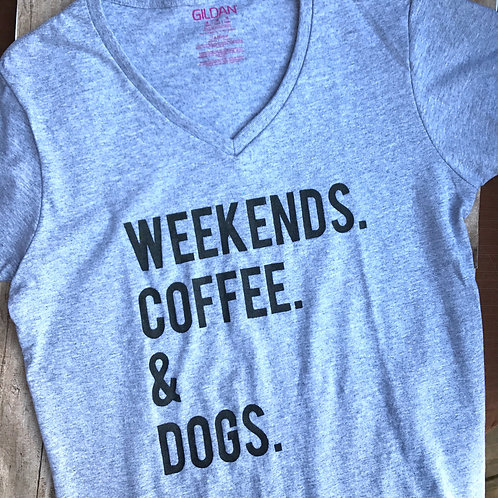 Weekends. Coffee. Dogs.