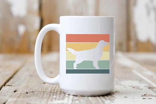 Golden Sunset Silhouette Mug