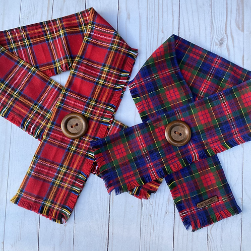 Flannel Crossover Scarf