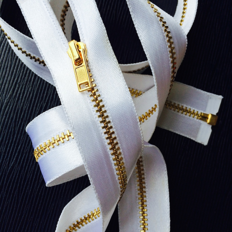 Luxury Metal Zipper