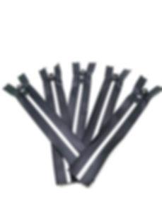 5 # Matte surface waterproof zipper with