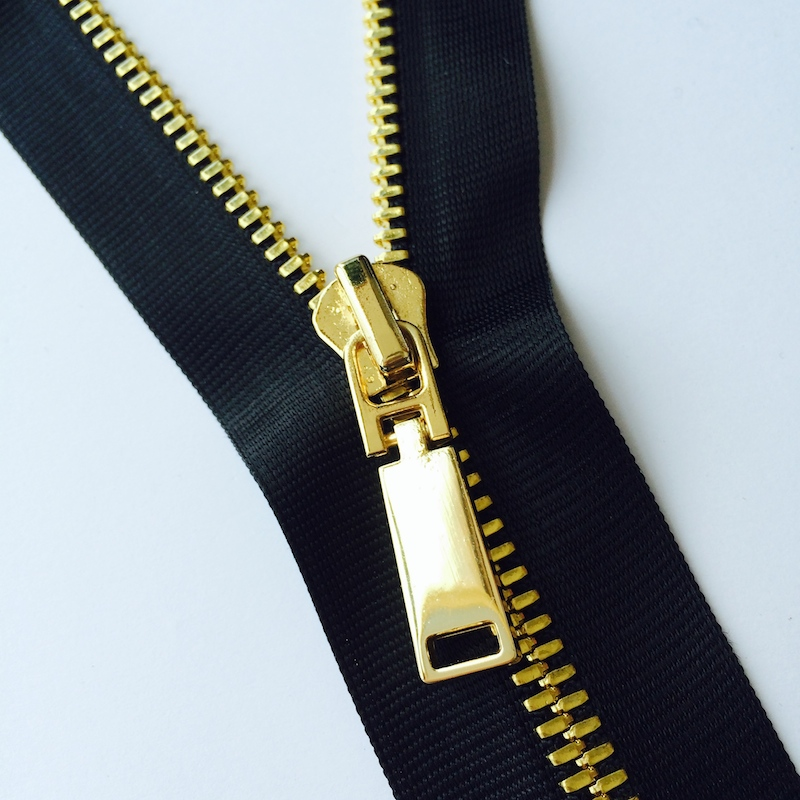 Elegant Metal Zipper
