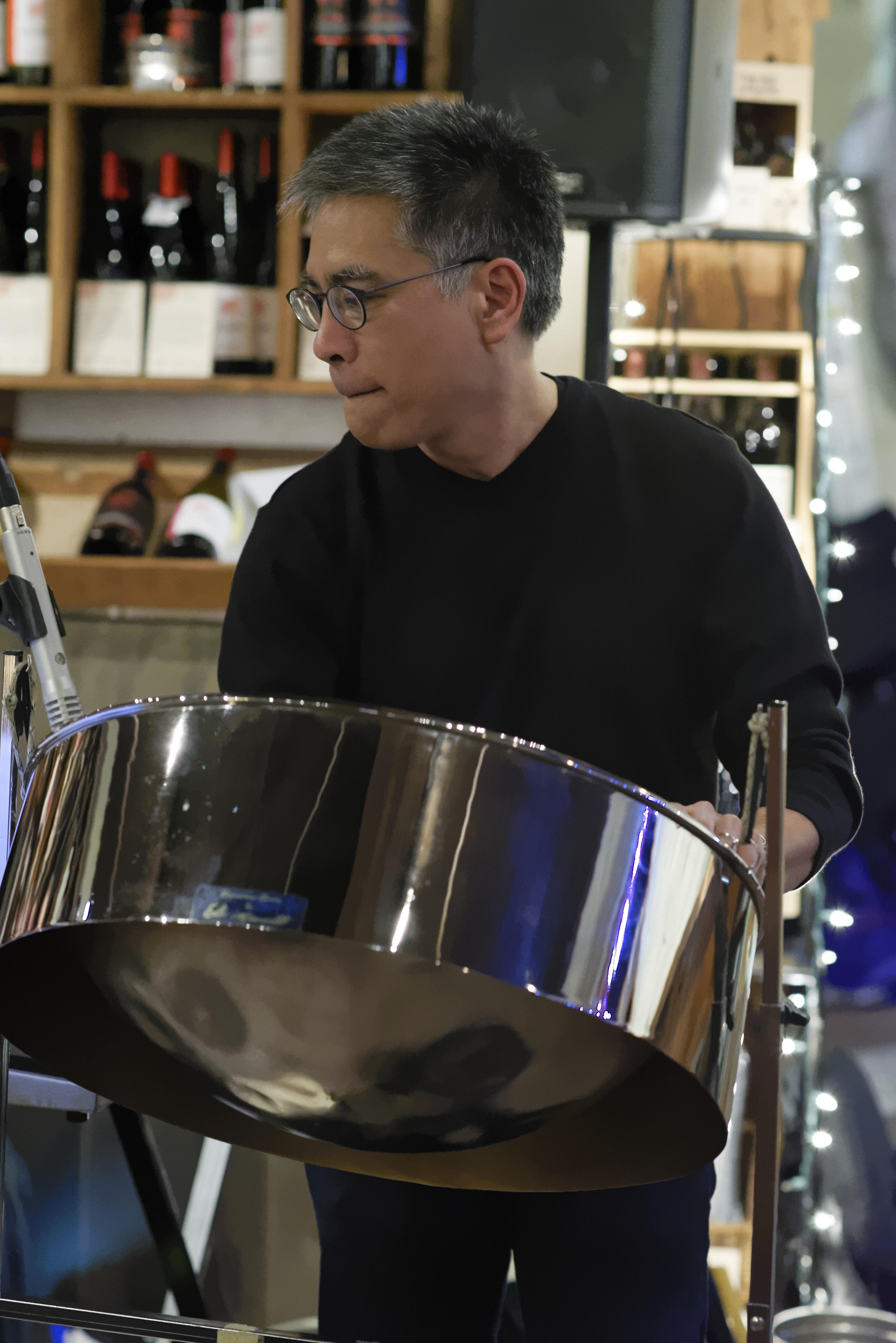 Stephen Yamada-Heidner//Vibes, Steel Pan