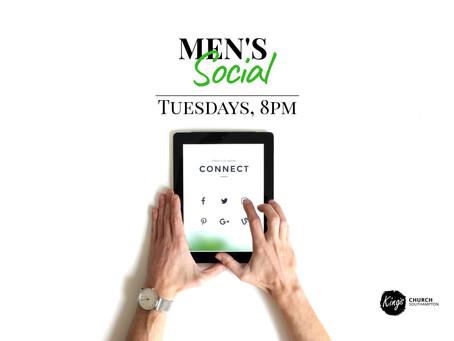 Men's social, Tuesdays