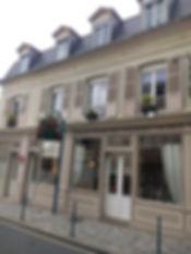 Hôtel des Falaises villers sur mer