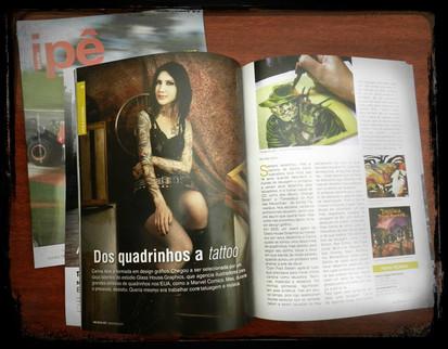 Matéria com Carina Alok na Ipê Magazine