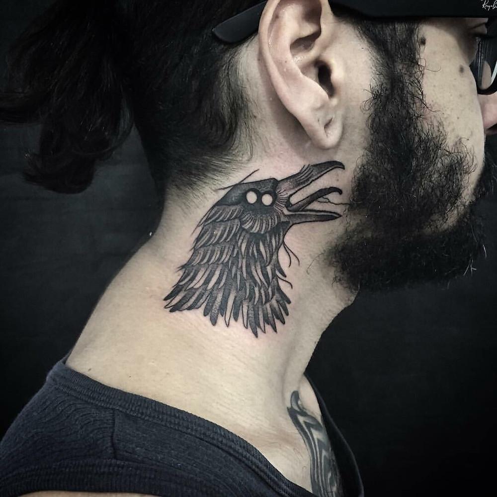 Blackwork Tattoo - Tatuadora: Carina Alok