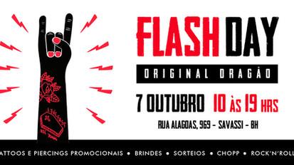 Vem aí o 2º Flash Day do Original Dragão