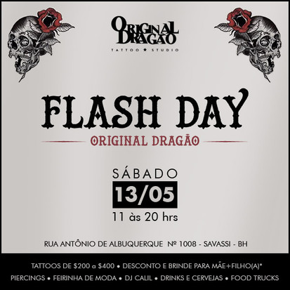 Vem aí o 1° Flash Day do Original Dragão