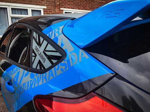 Mk3 Rs Union Jack Window Decal