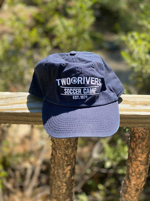 Two Rivers Navy Dad Cap