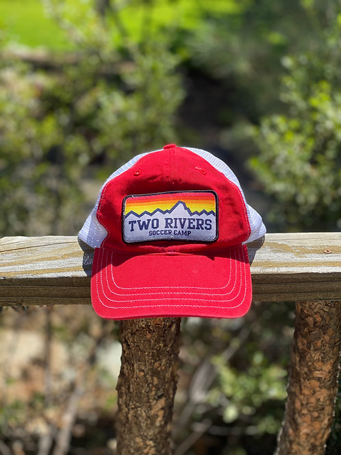 Two Rivers Mountain Patch Baseball Hat