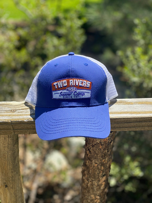 Two Rivers Vintage Patch Baseball Cap