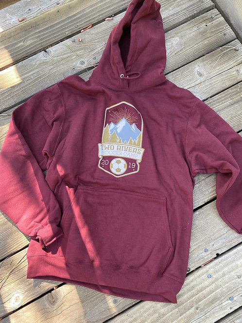 Two Rivers 2019 Gold Members Hoody