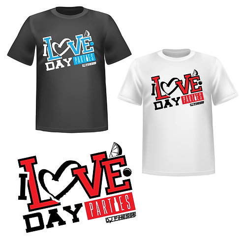 I Love Day Parties Tshirt