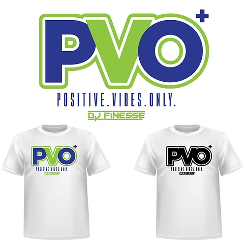 P.V.O. Positive Vibes Only Tee