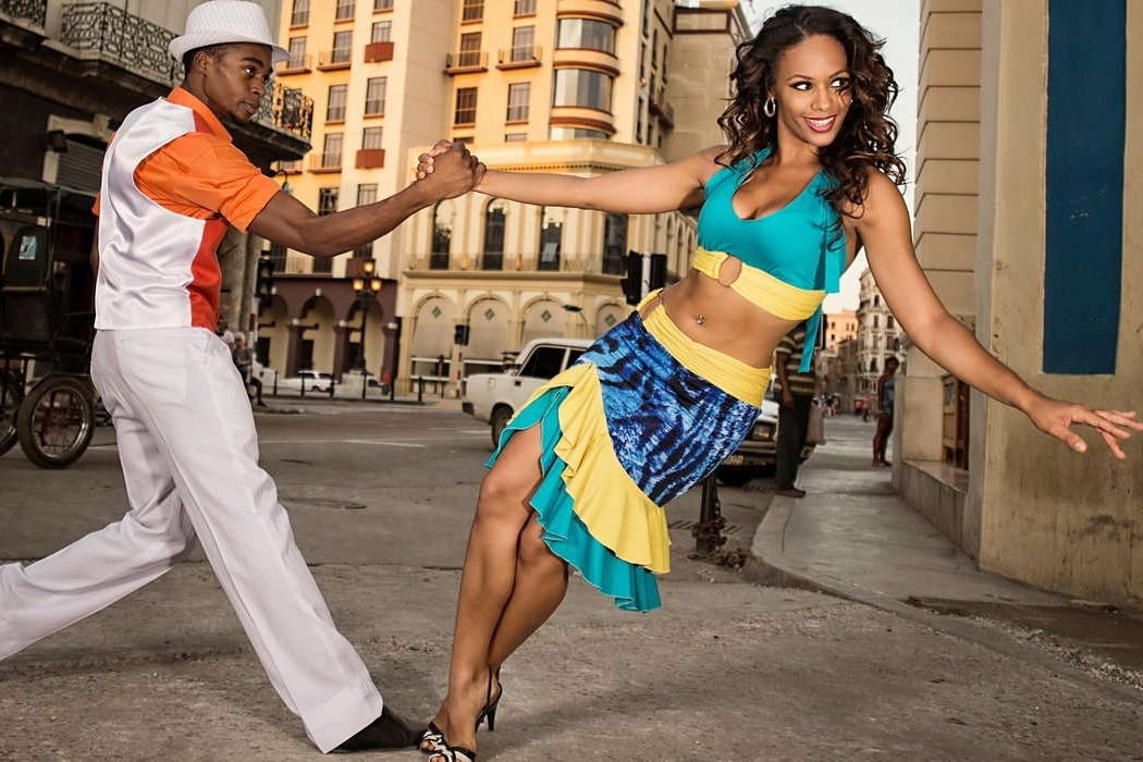 Dance cuban salsa or take classes
