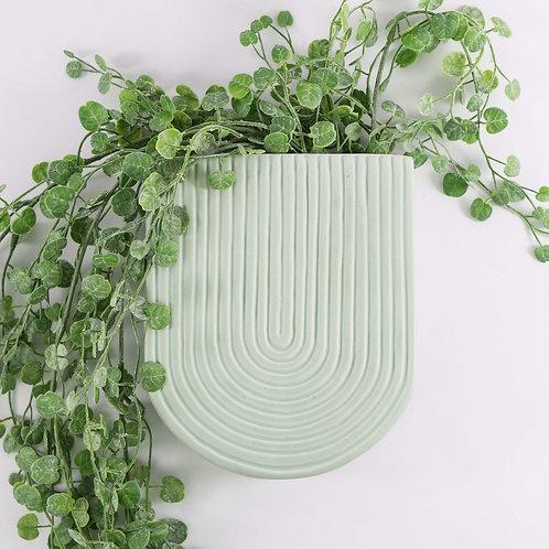 Wall Vase (Mint)
