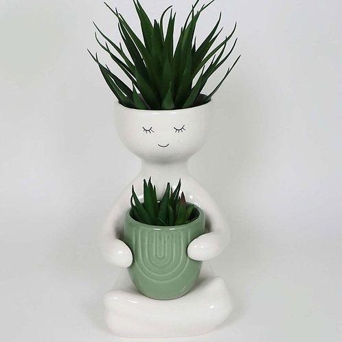 Plant hug pot (Mint)