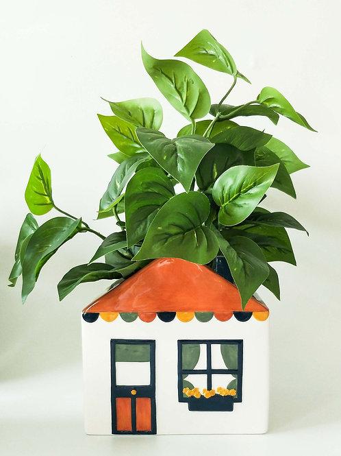 Retro House Planter