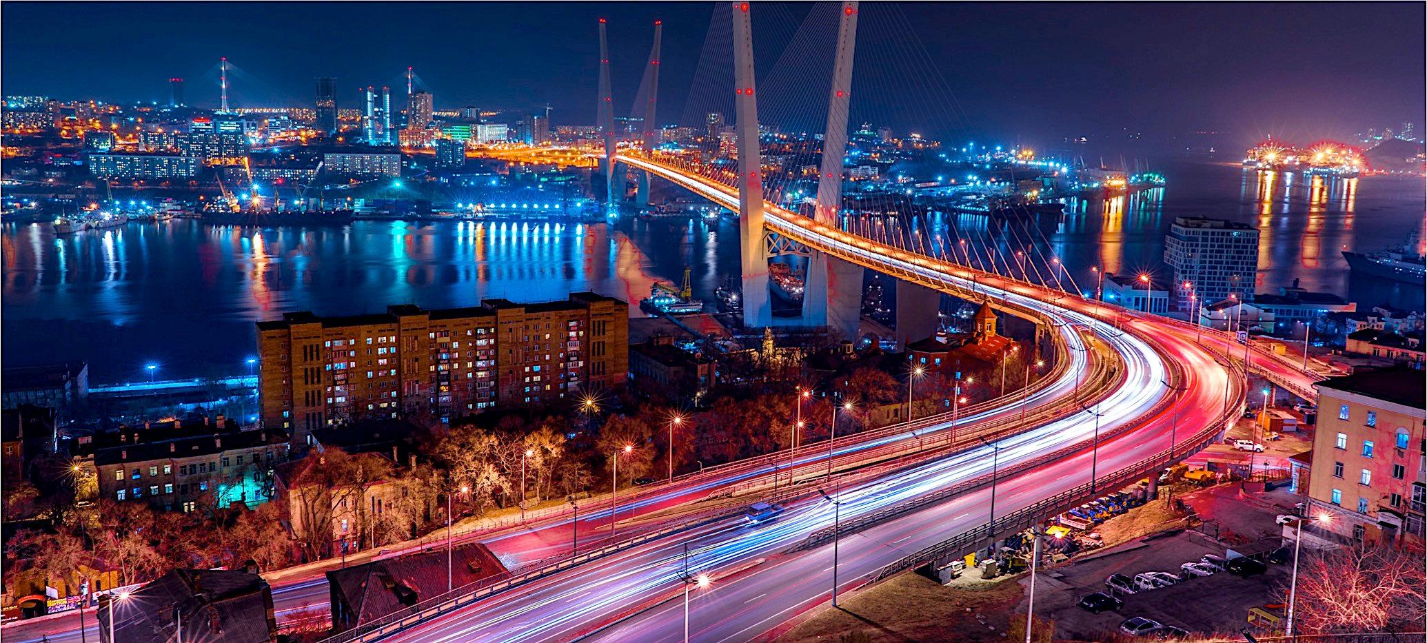블라디보스톡의 야경