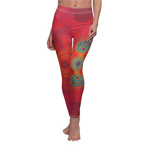 Rainbow - Women's Cut & Sew Casual Leggings