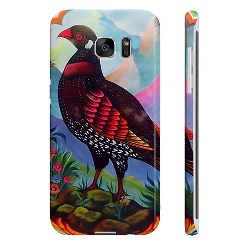 Black Partridge - Wpaps Slim Phone Cases