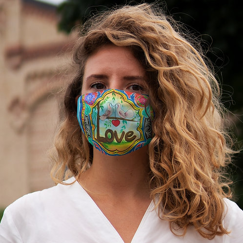 Love - Snug-Fit Polyester Face Mask