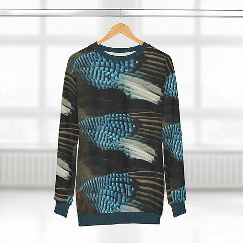 Blue Jay - AOP Unisex Sweatshirt