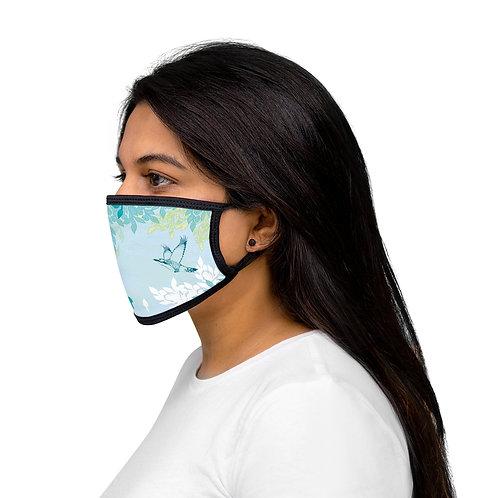 White Night - Mixed-Fabric Face Mask
