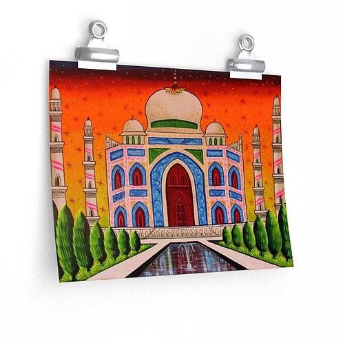 Taj Mahal Premium Matte posters