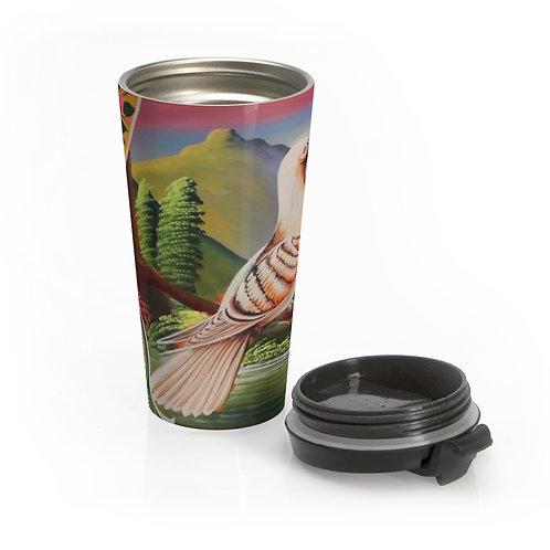 Lovey Doves - Stainless Steel Travel Mug