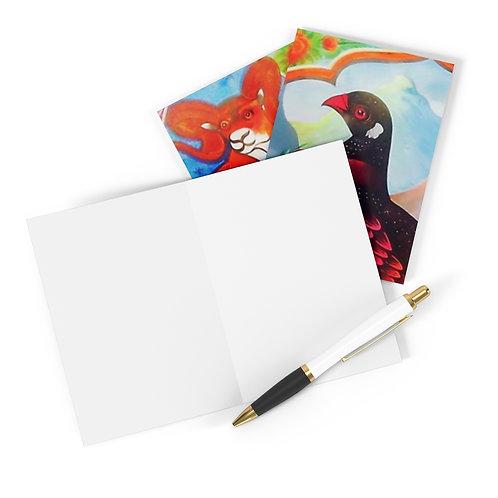 Black Partridge - Greeting Cards (8 pcs)