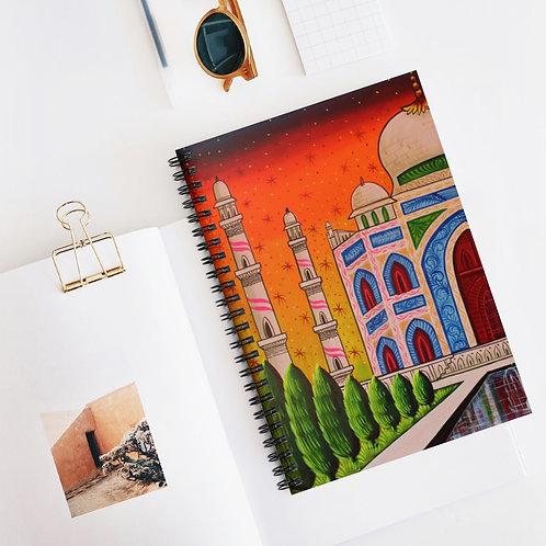 Taj Mahal - Spiral Notebook - Ruled Line