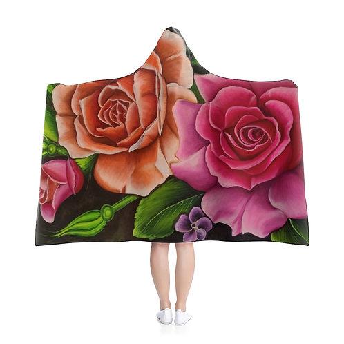 Petals - Hooded Blanket