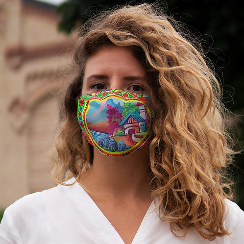 Sweet Home - Snug-Fit Polyester Face Mask