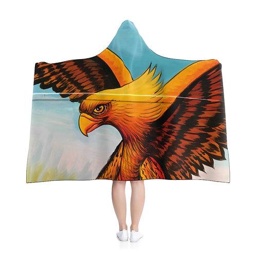 Golden Wings - Hooded Blanket