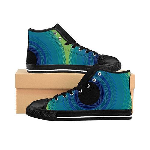 Blue Moon - Men's High-top Sneakers