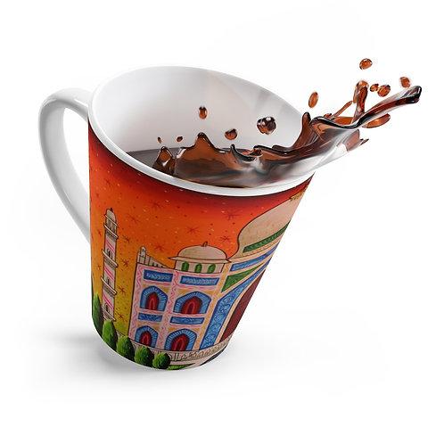 Taj Mahal - Latte mug