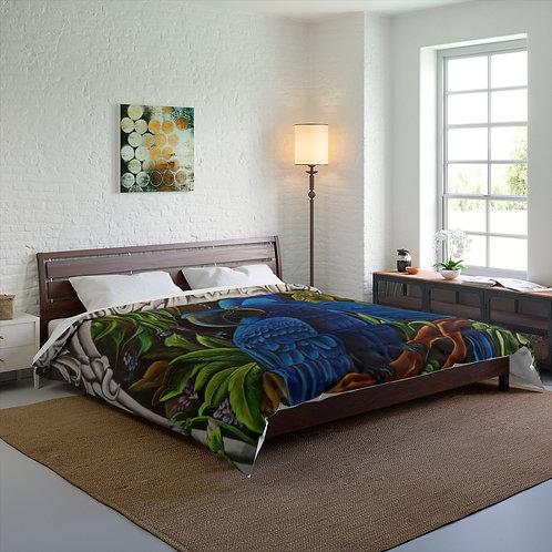 Blue Macaw - Comforter
