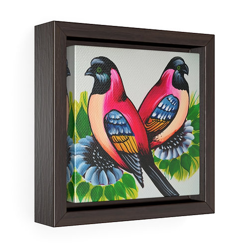 Together Square Framed Premium Gallery Wrap Canvas