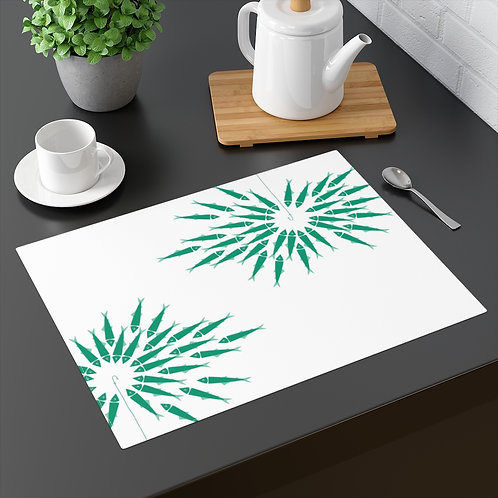 Green Fish - Placemat