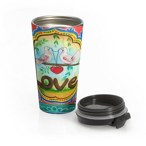 Love - Stainless Steel Travel Mug