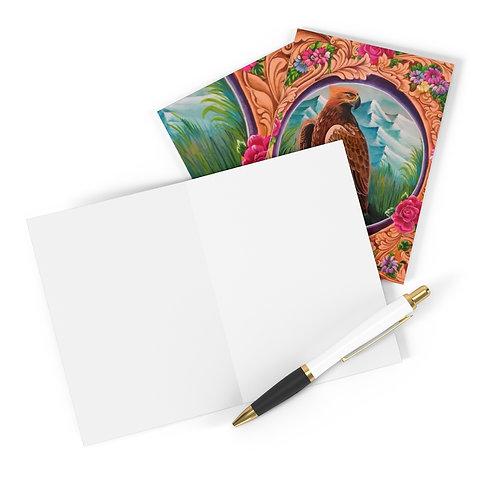 Eagle - Greeting Cards (8 pcs)