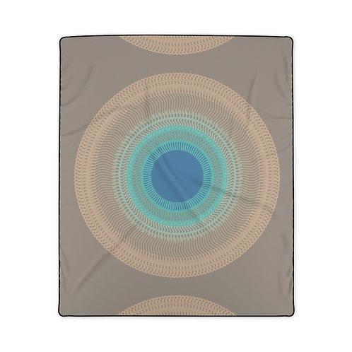 Misty Moon - Polyester Blanket