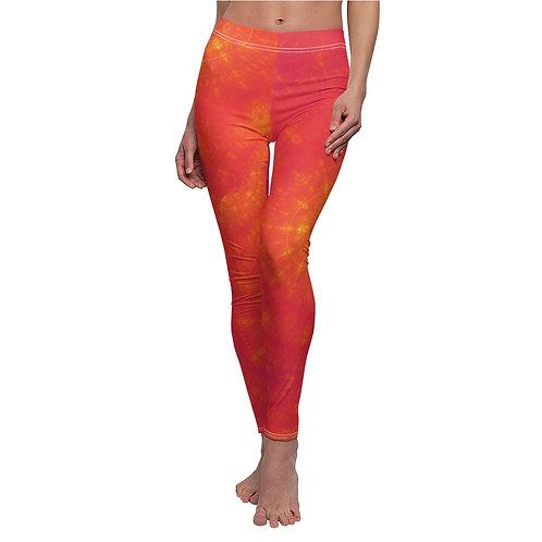 Sun - Women's Cut & Sew Casual Leggings